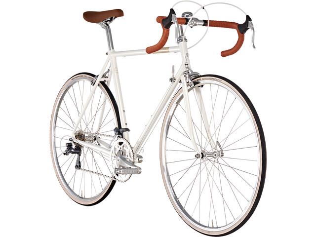 Creme Echo Solo Racercykel 16-speed hvid | Road bikes